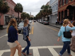 On Saturday, students had the chance to explore Charleston on their own.