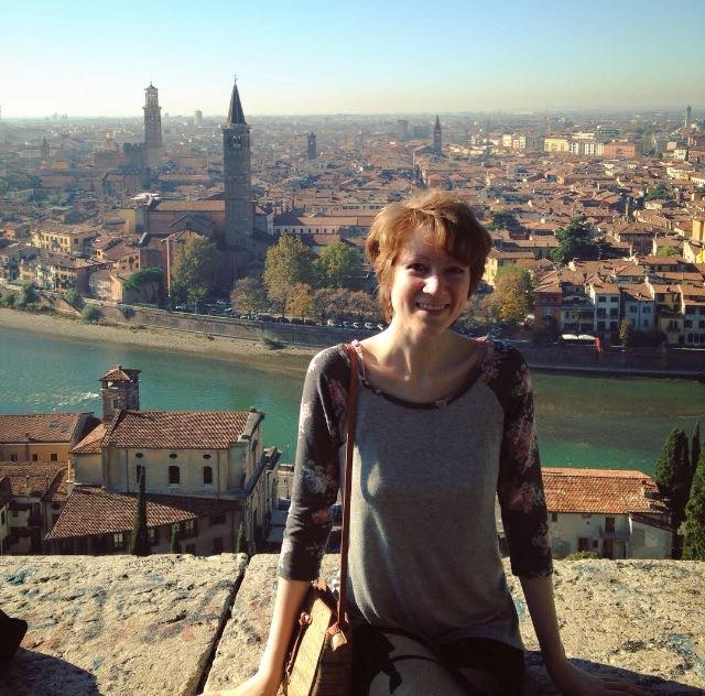 Ann in Verona